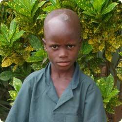 Photo d'un jeune orphelin parrainé au Bénin