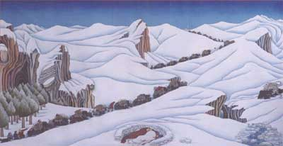 Tenzing Norbu Lama, peintures et dessins du Tibet