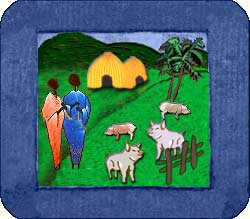 D�veloppement rural au Cameroun : Porcherie et �levage de porcs