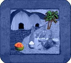 Unité de production de savon à Moya