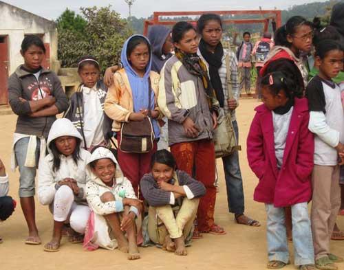 Dernier jour de classe à l'école Akany Aina à Madagascar