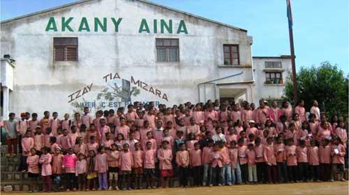 Ecole Akany Aina à Madagascar