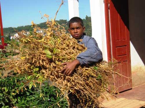 Fête de Noël pour les enfants pauvres du Centre Akany Aina à Madagascar