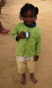 Une orpheline du centre Akany Aina