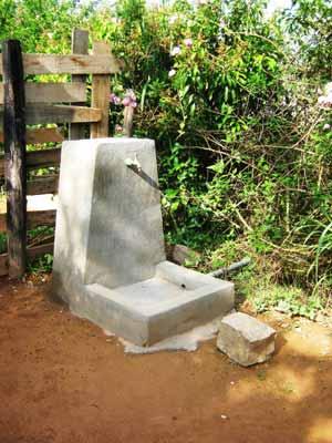 Mise en place de nouveaux points d'eau dans l'école Akany Aina à Madagascar
