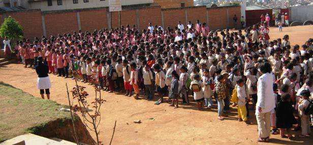 Rentrée scolaire au centre Akany Aina à Madagascar