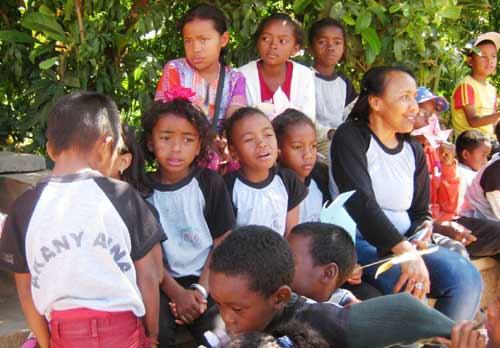 Journée Portes Ouvertes pour l'école Akany Aina d'Ambatolampy à Madagascar