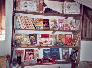 Livres et revues de la bibliothèque