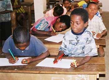 Parrainage d'une école à Madagascar