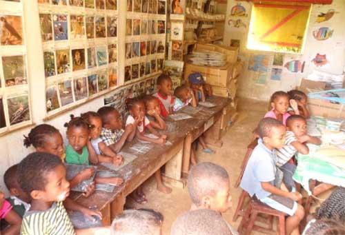 L'école maternelle d'Ambodirafia à Madagascar