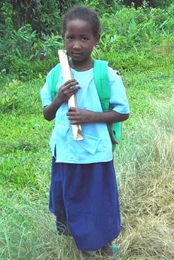 Enfants de l'école d'Ambodirafia à Madagascar
