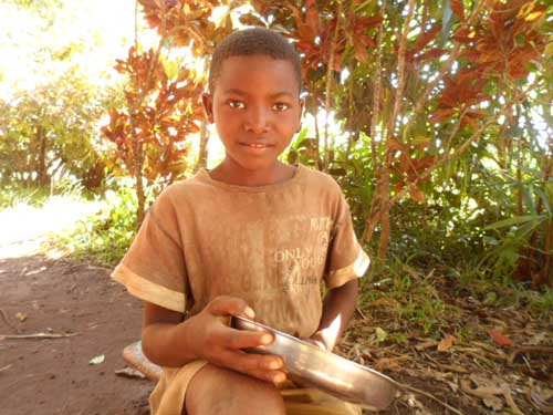 Sourire d'enfant à Madagascar