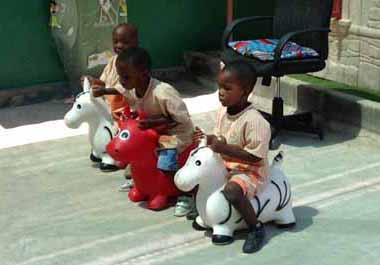 La crèche Luz e Esperanza pour jeunes mères célibataires en Angola
