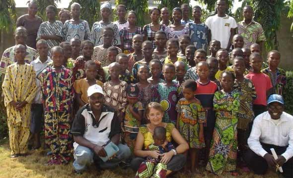 les orphelins du sida scolarisés par la SMDS au Bénin