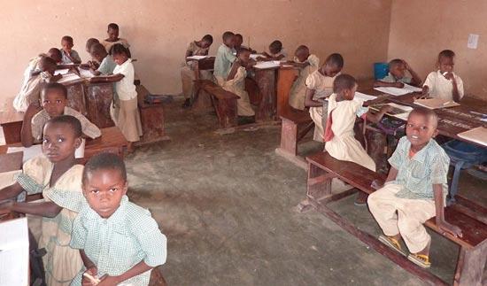 L'école Ste Marie de Ouénou au Bénin accueille les enfants les plus vulnérables de la région.