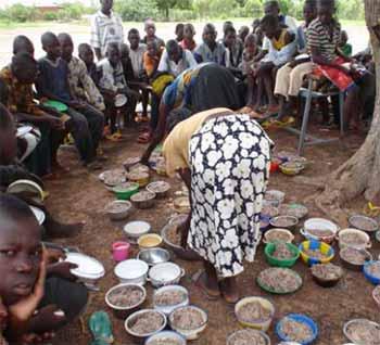 Cantine scolaire pour les enfants de Kouila au Burkina Faso