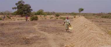 Micro barrage de Douré, Burkina Faso