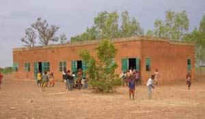 Une classe de l'école primaire de Douré au Burkina Faso