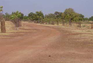 Aménagement des routes au Burkina Faso
