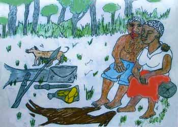 L'organisation sociale au sein des campements Pygm�es