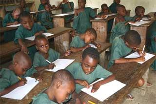 Classe ORA au FONDAF Bipindi
