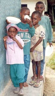 Enfants Pygmées du Fondaf