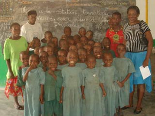 Classe ORA, Fondaf Bipindi, Cameroun