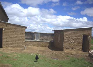 Une bergerie communautaire dans l'Altiplano bolivien