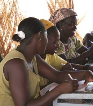 Action humanitaire pour l'alphabétisation des femmes en RD du Congo