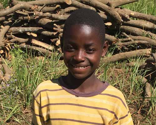 Stanislas, enfant réinséré dans sa famille en RD Congo
