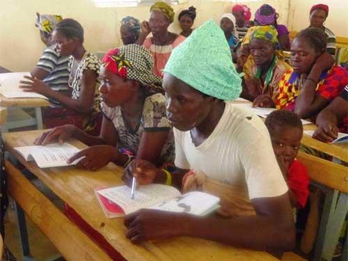 Alphabétisation des femmes au Burkina Faso