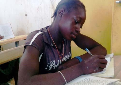 Alphabétisation des filles au Burkina Faso
