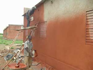 Etude du site et du plan de l'école de Guiè B, Burkina Faso