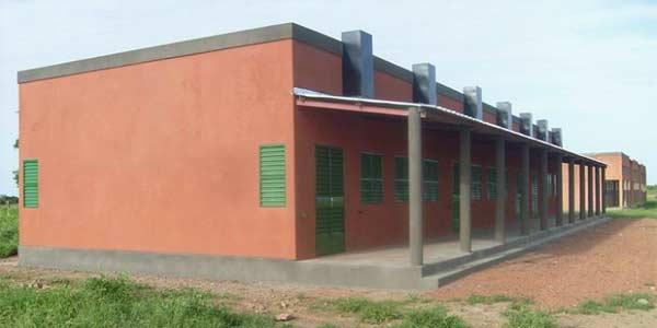La nouvelle école B de Guiè, Burkina Faso
