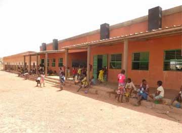 Ecole primaire de Namassa au Burkina Faso