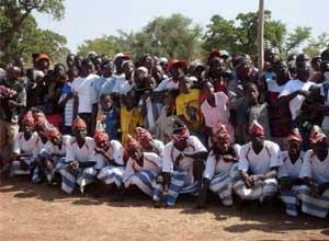 Grande fête villageoise des Ruralies à Guiè, Burkina Faso