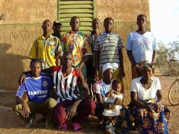 Les volontaires de la Ferme Pilote de Goèma, Burkina Faso