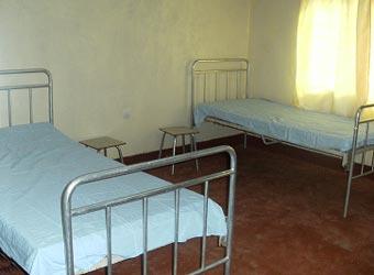 Une chambre de la maternité de Kirundo au Burundi