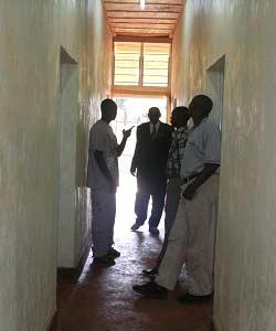Visite officielle de la maternité de Kirundo au Burundi