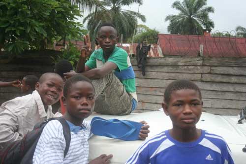 Enfants soldats démobilisés - Goma, RD Congo