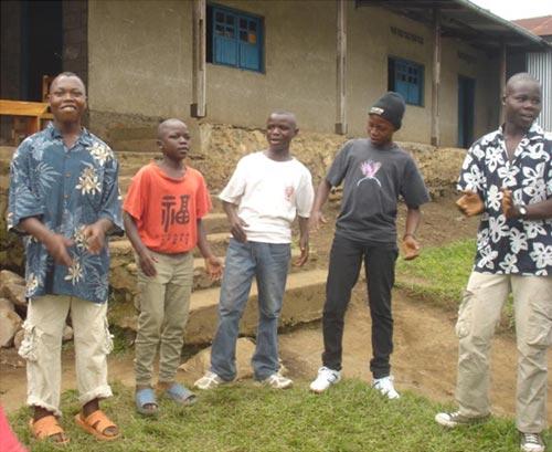 Enfants soldats démobilisés à Goma