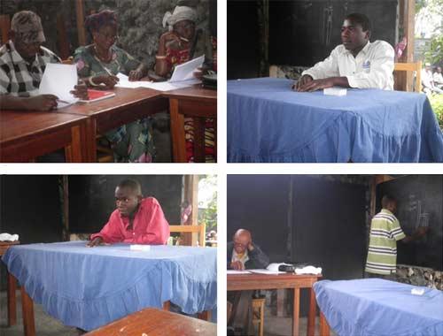 Epreuve théorique pour le brevet professionel de menuiserie à Goma.