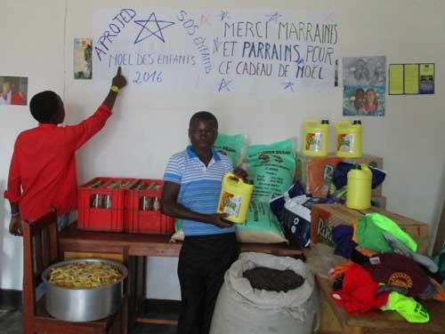 Fête de Noël pour les enfants soldats démobilisés à Goma en RD Congo