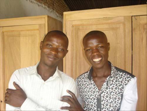 Deux nouveaux animateurs pour nos enfants soldats démobilisés à Goma, RD Congo