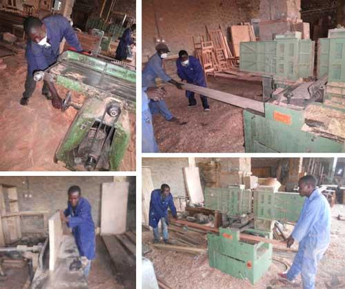 Apprentissage des machines-outils