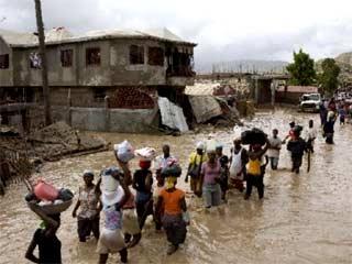 Après cyclone, aide d'urgence Haïti