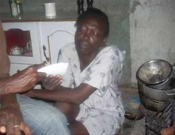Aide aux familles de l'école St Alphonse, bidonville de Cité Soleil en Haïti
