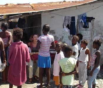Visite de la Déléguée Générale de SOS Enfants en Haïti