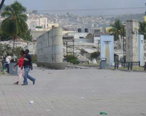Port au Prince dévastée au lendemain des élections en Haïti