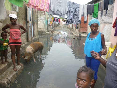 L'ouragan Matthew en Haïti